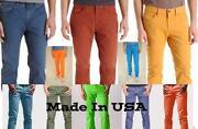 Men's Bright Yellow Skinny Jeans