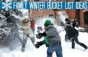 5 Things to Check Off Your Family Winter Bucket List