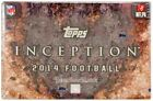 Topps Box Football Trading Cards Negative