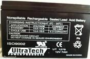 Ultratech UT1270 Battery 12V 7Ah