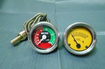 Massey Ferguson Te20to20to30t035f40tef20135 Oil Pressuretemperature Gauge