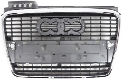 Chrome Grill Assembly for 2005-2009 Audi A4, A4 Quattro, S4 Grille AU1200112