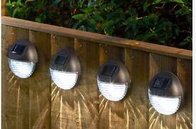 Set Of 4 Fence Lights