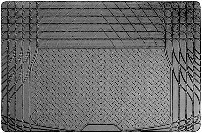 Car Parts - SS5125 Black Heavy Duty Durable Waterproof Rubber Car Boot Protection Liner Mat