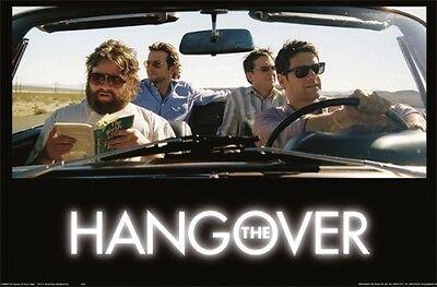 THE HANGOVER Movie Poster  - Car Vegas Full Size 24x36 ~ Bradley Cooper Ed Helms