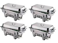 £5 Stainless Steel Chafing Dishes, Vases & Flowers, Food Catering Service available!