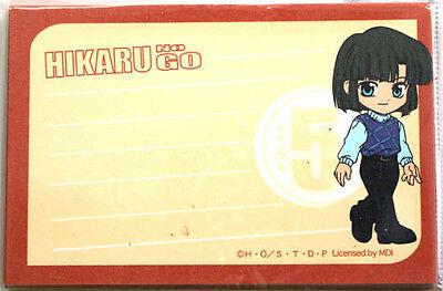 Hikaru no Go Akira Mini Note Paper Manga Anime NEW
