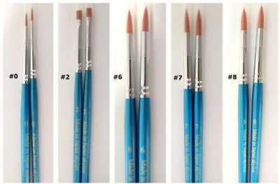 Dental Lab Teeth Porcelain Brush Pen 0 2 6 7 8 Dentist Adhesive Composite