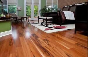 """Prefinished 5"""" x 3/4"""" Tigerwood Flooring for sale, $3.79/ft only!!!"""