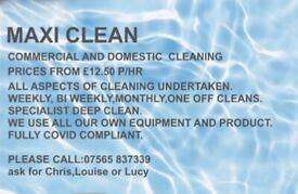 Cleaning Services *Special offers available*