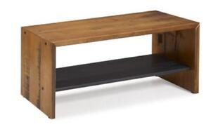 For sale A Brand New Walker Edison 42-in Solid Rustic Reclaimed Wood Entry Bench....$130