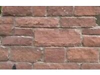 Red sandstone walling wanted