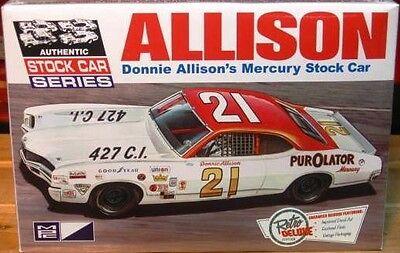 MPC 1971 Mercury Cyclone Stock Car-Donnie Allison model kit 1/25