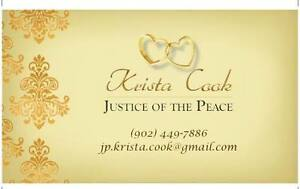 NS Justice of the Peace/Wedding Officiant for hire