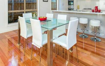 Kracken dining room table 6 chairs & Kracken coffee table Mount Waverley Monash Area Preview