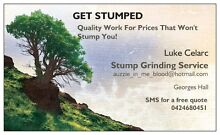 STUMP GRINDING SERVICE Georges Hall Bankstown Area Preview