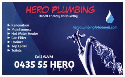 Hero Plumbing Cheap Price  Parramatta Parramatta Area Preview
