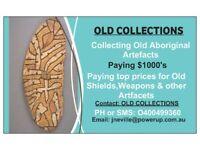 Wanted Old Australian Aboriginal Artefacts