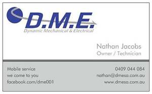 DME. Mobile Mechanical & Auto electrical Gilles Plains Port Adelaide Area Preview