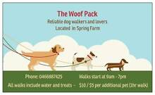 The WOOF Pack Spring Farm Camden Area Preview