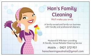 HANS FAMILY CLEANING Hyde Park Unley Area Preview