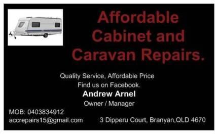 Affordable Cabinet and Caravan Repairs Bundaberg Central Bundaberg City Preview
