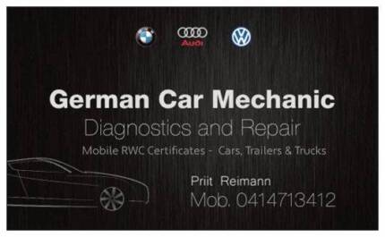 German CAR Mechanic Mobile  RWC Certificates,Car Truck Diagnostic