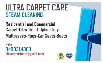 ULTRA CARPET CARE - 4 ROOMS $80 FREE DEODORIZING - ALL AREAS