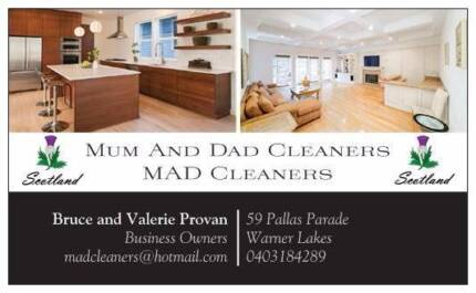 Mum And Dad Cleaners (MAD Cleaners)