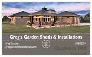 Greg's Eastern Suburbs Garden Shed Installations Woollahra Eastern Suburbs Preview
