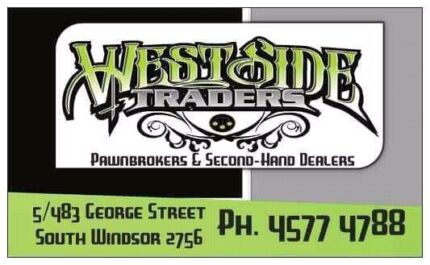 WESTSIDE TRADERS PAWNBROKERS & SECOND-HAND DEALERS