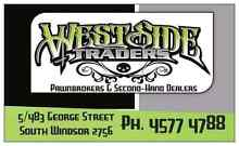 Westside traders PAWNBROKERS & SECOND-HAND DEALERS Windsor Hawkesbury Area Preview