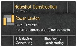 NEED A BRICKLAYER??? Blacktown Blacktown Area Preview
