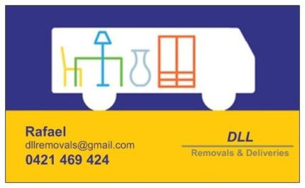 DLL Removals & Deliveries - $55 ( VAN + Removalist ) Neutral Bay North Sydney Area Preview