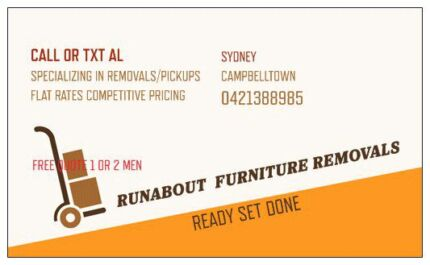 Runabout Furniture Removals / Courier Liverpool Liverpool Area Preview