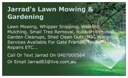 Lawn Mowing / Garden Clean Ups  Greenwood Joondalup Area Preview