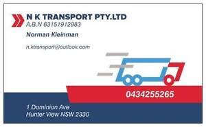 N K Transport PTY.LTD Hunterview Singleton Area Preview