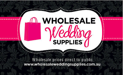 Wholesale Wedding Supplies