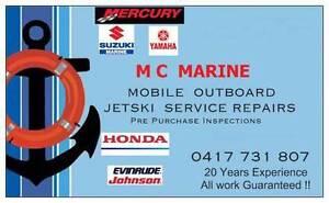 MC MARINE MOBILE MARINE BOAT OUTBOARD SERVICE MECHANIC Bundall Gold Coast City Preview