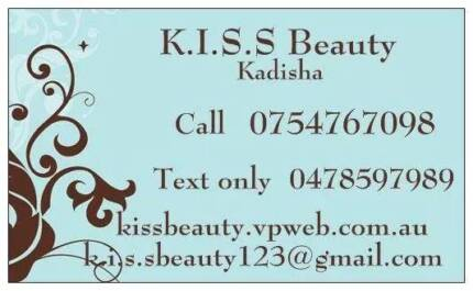 k.i.s.s beauty (also mobile) Kuluin Maroochydore Area Preview