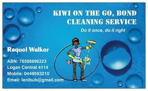 KIWI ON THE GO: BOND CLEANING SERVICE Kingston Logan Area Preview