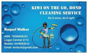 KIWI ON THE GO:BOND CLEANING SERVICE Kingston Logan Area Preview