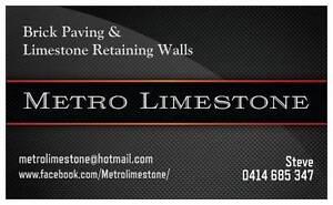 Metro Limestone Brick Paving & Limestone Walls Forrestdale Armadale Area Preview