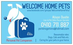 WELCOME HOME PETS Biggera Waters Gold Coast City Preview