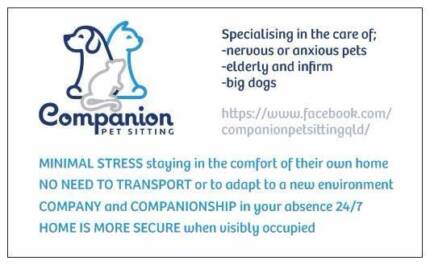 Companion Pet Sitting