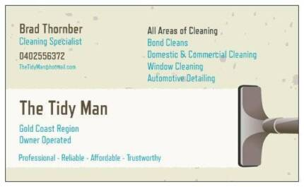 The Tidy Man - Bond Cleans Specialist! Upper Coomera Gold Coast North Preview