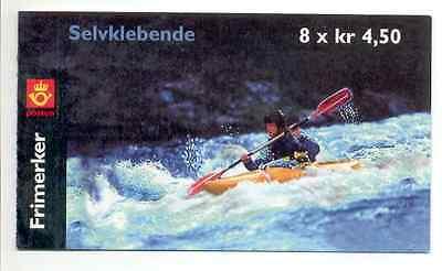 Norway self adhesive stamp booklet, year 2001 MNH **