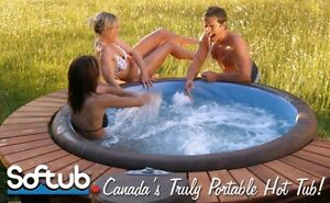 SOFTUB!!  CANADA'S PORTABLE AFFORDABLE HOT TUB!!