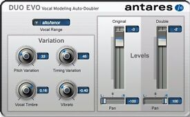 Antares Duo Evo - vocal doubling software