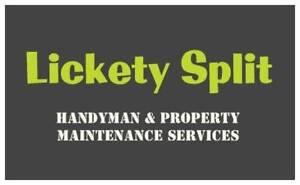 Lickety Split Handyman & Property Maintenance Services